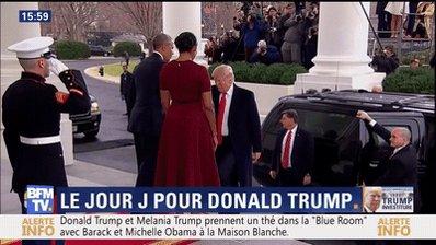 #DonaldTrump est arrivé à la #MaisonBlanche. #BarackObama va passer le relais.