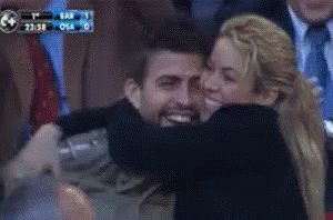 I want to wish a happy birthday to the greatest couple in soccer, Shakira and Gerard Pique.