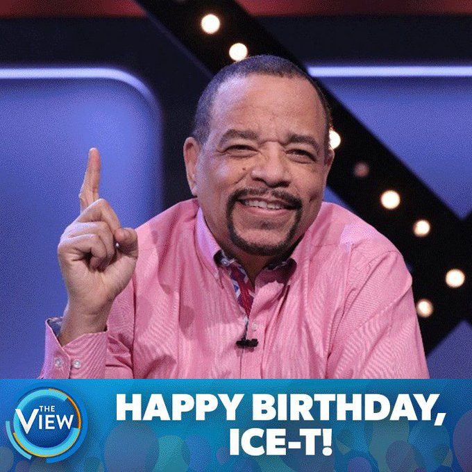 Happy Birthday to our friend, Ice T!
