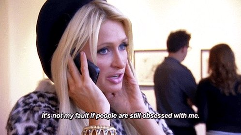 We really sacrificed her so Kim K could resurrect happy birthday to the goddess Paris Hilton