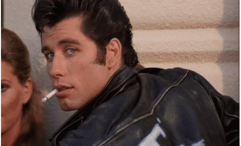Happy Birthday John Travolta, the king of cool