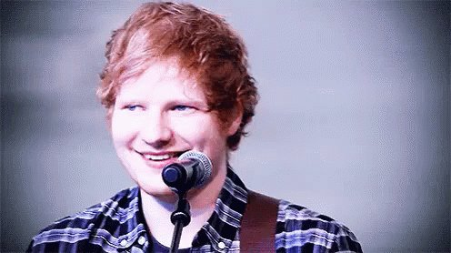 Happy Birthday talented and wonderful Ed Sheeran