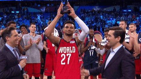 RT @NBA: PTS: 36  AST: 11  3PM: 9  Jamal Murray is your #BBVARisingStars MVP 🏆🏆 https://t.co/jiUArydqDA