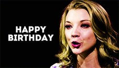 Happy Birthday Natalie Dormer