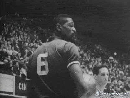 Happy birthday to the , Bill Russell.