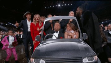 James Corden Carpool Karaoked with Jennifer Lopez and Blue Ivy at the he wins.