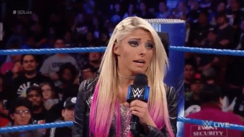 Former Women's Champion @AlexaBliss_WWE accuses @NaomiWWE of making up an injury to prevent her rematch. #SDLive
