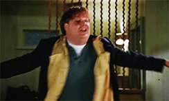 Happy birthday to Chris Farley  We miss you Chris!