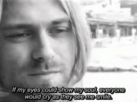 """I HATE MY SELF AND I WANT TO DIE\"" Happy Birthday Kurt Cobain!"