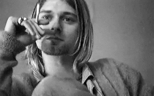Happy 50th Birthday Kurt Cobain, we love and miss you so bad.