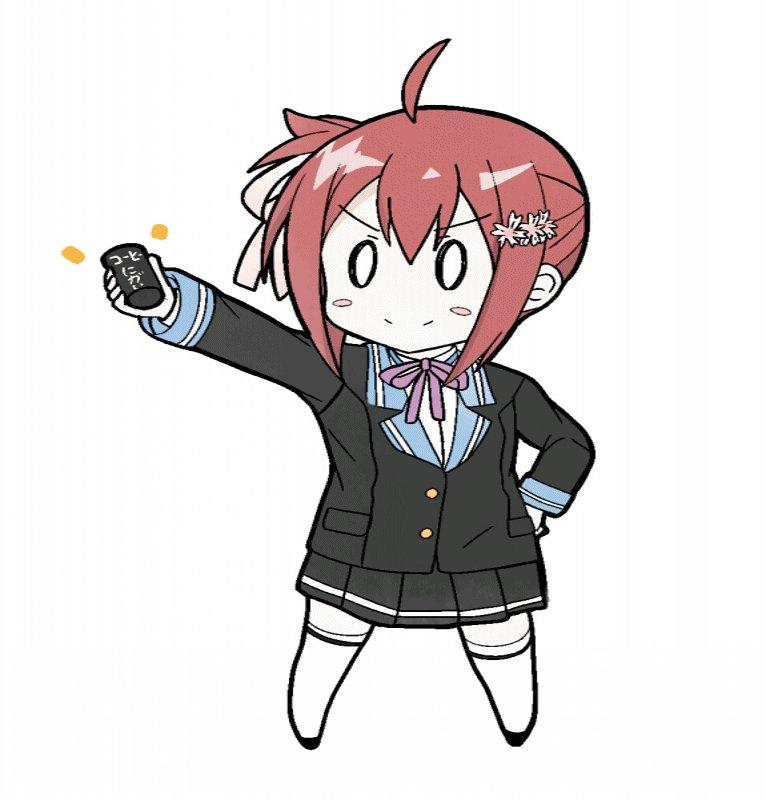高嶋友奈ブラックコーヒーにチャレンジします!  GIF #yuyuyu #のわゆ