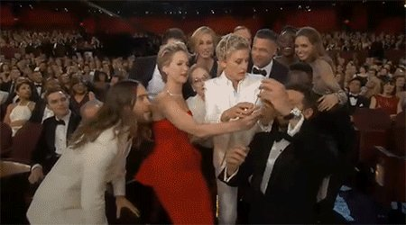 Don't miss The Oscars Live Oscar Sunday 7e|4p on ABC but first, let's remember this selfie: