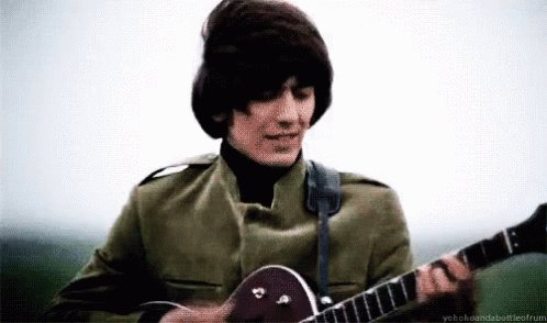 Happy birthday, George Harrison. 2/25/43