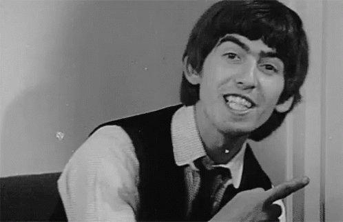 Happy Birthday to my favorite Beatle, Mr. George Harrison!