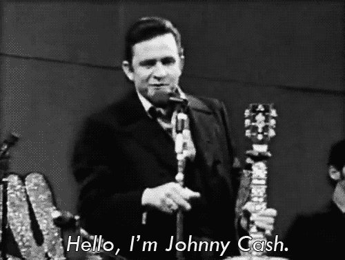 Happy Birthday up there to one of my all time favourites, Johnny Cash! E