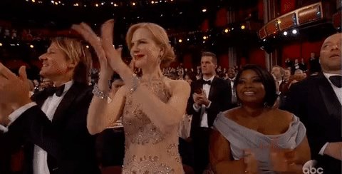 I had a nightmare about Nicole Kidman's weird clap...