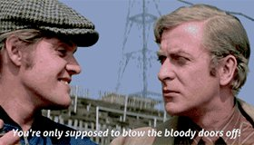 You\re only supposed to blow the bloody candles out Happy Birthday, Sir Michael Caine.