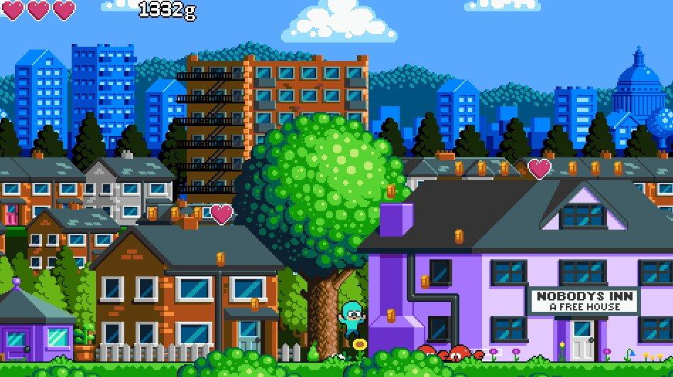 Ploptown in action  #screenshotsaturday #indiedev #gamedev #pixelart #GameMaker https://t.co/rLKlfzpUB5