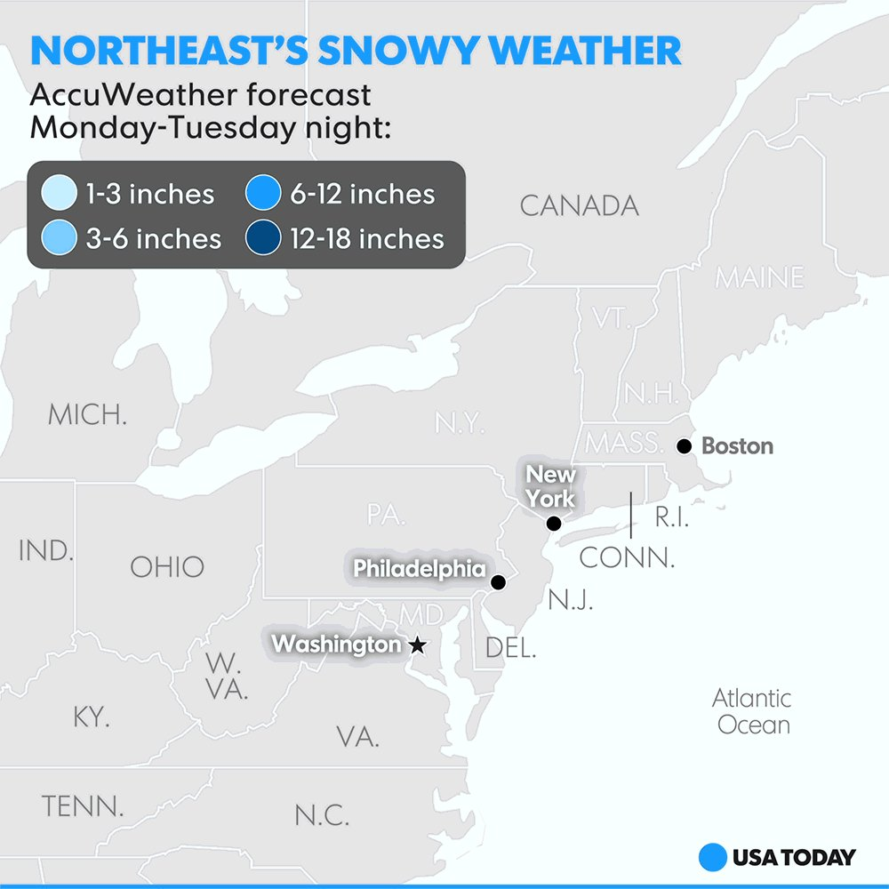 "Is Winter Storm Stella a weather ""bomb"" waiting to blast the Northeast coast?"