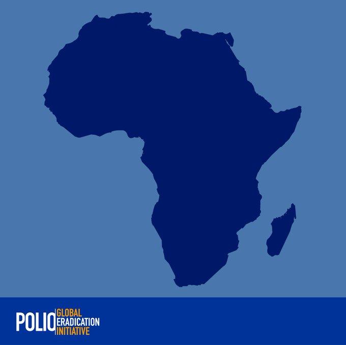 116 million children. 13 countries in #Africa. 1 goal: #EndPolio