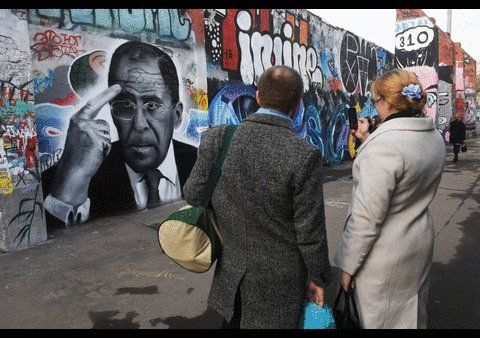 Celebrated in the streets: Politicians have been immortalized by striking #graffiti images https://t.co/IvmEfv41MZ