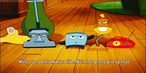 @Pac8317 Hehe If you aren't inspired by The Brave Little Toaster, you have no soul. 😉 https://t.co/R