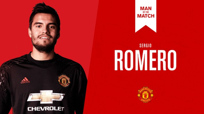 RT @ManUtd: Retweet to cast your vote for Sergio Romero as tonight's Man of the Match. #MUFC https://t.co/svN9Ydx4Zt