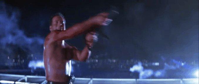 Happy Birthday, Bruce Willis. 62 today. Yippee ki-yay!