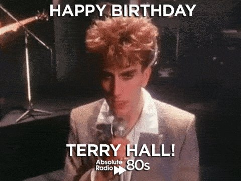 It\s a \Special\ day for our favourite \Fun Boy\...  Happy Birthday Terry Hall of !