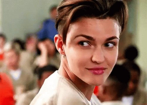 HAPPY BIRTHDAY RUBY ROSE, MY BABY LOVE!  (best gif ever)