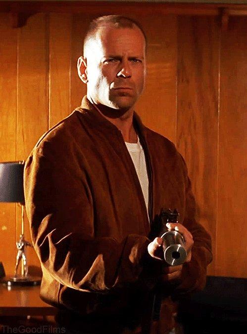 Happy birthday to Bruce Willis and I