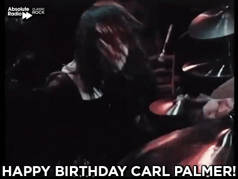 Happy birthday to Carl Palmer of ELP, Asia, Atomic Rooster, and more!