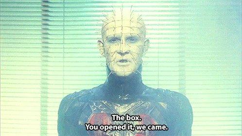 *New KH Post* Goon Review: Hellraiser: The Scarlet Box https://t.co/UHhqD89IWE https://t.co/OSw510f3
