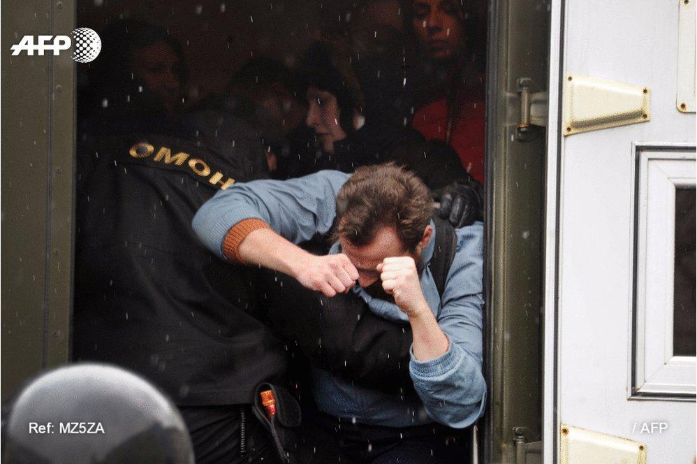 Belarus: 57 arrestations dans un raid de la police contre une ONG
