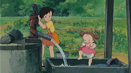 My Neighbor Totoro⇒ となりのトトロ⇒ T O T O R O⇒ reminds me of my c