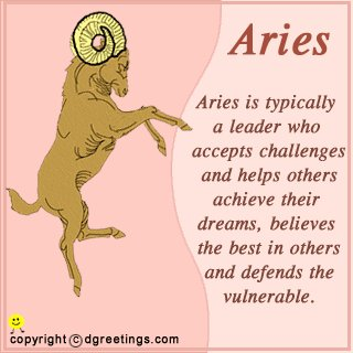 Happy birthday to an awesome Aries!
