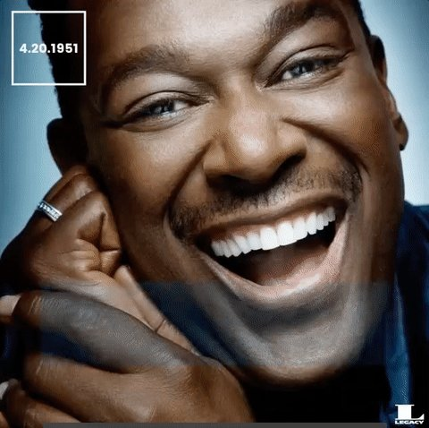 What a wonderful day It s so amazing to be loved  Happy birthday to Luther Vandross!
