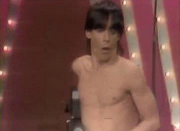 Happy birthday to The Iguana, the great Iggy Pop.