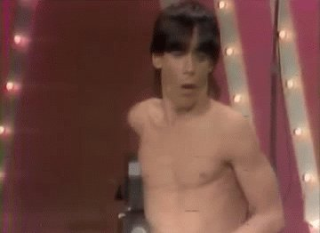 Happy birthday to The Iguana, the great Iggy Pop.