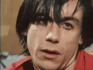 Happy 70th Birthday To the coolest mutha who ever walked the planet Iggy Pop