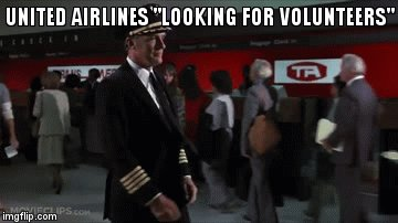 RT @linquel: @United Airlines looking for more volunteers. #unitedjourney #flight3411 https://t.co/CGFvDx96lx