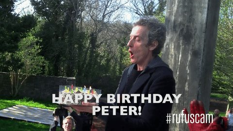 Happy birthday to the wonderful Peter Capaldi!
