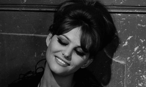 Happy to the beautiful Claudia Cardinale...