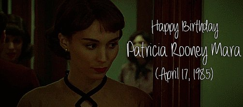 Happy birthday to this incredible actress and a precious angel, patricia rooney mara