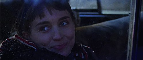 What a strange girl you are. Flung out of space. Happy birthday, Rooney Mara!