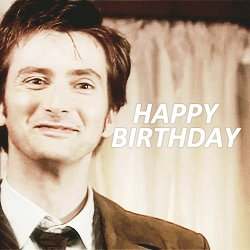 Happy 46th Birthday David Tennant, you beauty!
