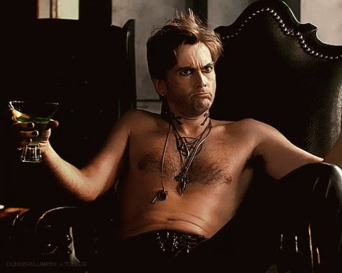 Happy Birthday David Tennant - love this look on him