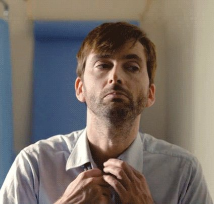 Happy Birthday David Tennant! Watch the Scottish actor tonight at 22:44 on in the S3 premiere.