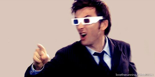 A happy 46th birthday to the Tenth Doctor, David Tennant.