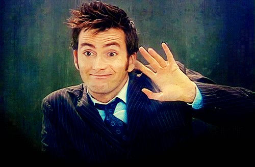 Happy Birthday to my favorite Doctor David Tennant